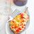bourré · blanche · plaque · été · vert · dîner - photo stock © tycoon