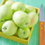 fraîches · pommes · bois · boîte · isolé · blanche - photo stock © tycoon