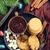 detail · christmas · cookies · heerlijk · vak · Rood - stockfoto © tycoon