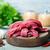 prémium · nyers · marhahús · vesepecsenye · fa · asztal · tehén - stock fotó © tycoon