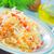 friss · zöld · saláta · fehér · étel · asztal - stock fotó © tycoon