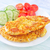 pechuga · de · pollo · alimentos · mama · placa · tomate · blanco - foto stock © tycoon