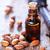 amande · pétrolières · verre · bouteille · ensemble · noix - photo stock © tycoon