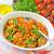 gomba · tányér · paradicsom · szakács · sárgarépa · zöldség - stock fotó © tycoon