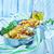 frito · papa · pan · mesa · alimentos · grasa - foto stock © tycoon