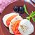 салат · Капрезе · моцарелла · томатный · базилик · бальзамического · уксуса - Сток-фото © tycoon