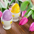 paskalya · yumurtası · buket · renkli · asılı · çiçek - stok fotoğraf © tycoon