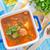 фасолевый · суп · кухне · хлеб · приготовления · морковь · есть - Сток-фото © tycoon