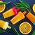 házi · készítésű · narancs · fagylalt · fekete · étel · háttér - stock fotó © tycoon