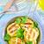 frito · abobrinha · metal · panela · tabela · cozinha - foto stock © tycoon