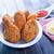 鶏 · 翼 · ニンニク · ぱりぱり - ストックフォト © tycoon