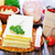 nyers · lasagna · közelkép · makró · senki · konyha - stock fotó © tycoon