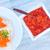 łososia · kawior · czerwony · ryb · pomarańczowy · czarny - zdjęcia stock © tycoon