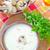 soep · groene · diner · witte · peper · plantaardige - stockfoto © tycoon