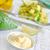 fraîches · vert · avocat · tomates · cerises · verres · saine - photo stock © tycoon
