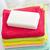 serviettes · savon · fleurs · bleu · détendre · couleur - photo stock © tycoon