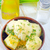 gekookt · aardappel · kom · tabel · glas · restaurant - stockfoto © tycoon