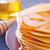 panquecas · fundo · trigo · ouro · café · da · manhã · sobremesa - foto stock © tycoon