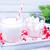 fresh milk and marshmellow stock photo © tycoon
