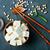 soya · peyniri · peynir · çanak · tablo · mavi · plaka - stok fotoğraf © tycoon
