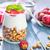 saludable · desayuno · yogurt · granola · griego · pina - foto stock © tycoon