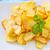 batatas · fritas · ervas · tigela · pão · batatas · fritas - foto stock © tycoon
