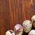 tojások · széna · toll · fából · készült · madár · farm - stock fotó © tycoon