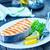 лосося · Ломтики · черный · икра · продовольствие - Сток-фото © tycoon