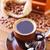 kávé · ízek · bögre · kávé · mogyoró · fahéj - stock fotó © tycoon
