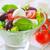 caprese · yaprak · yeşil · peynir · kırmızı · salata - stok fotoğraf © tycoon