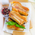 sült · hús · étel · nyár · tányér · élet - stock fotó © tycoon