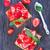 cake with fresh strawberry stock photo © tycoon