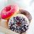 különböző · színes · édes · fánkok · fehér · festett - stock fotó © tycoon