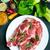 мяса · ягненка · ребро · продовольствие · Салат - Сток-фото © tycoon