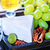 камамбер · зеленый · виноград · фрукты · сыра · виноград · голову - Сток-фото © tycoon