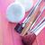 化粧品 · 顔 · 黒 · 白 · ブラシ · ツール - ストックフォト © tycoon