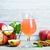 sıcak · elma · elma · şarabı · tarçın · baharatlar · düşmek - stok fotoğraf © tycoon