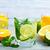 gyümölcs · dzsúz · por · fából · készült · egészség · gyógynövény - stock fotó © tycoon