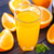 vol · glas · sinaasappelsap · witte · drinken · ontbijt - stockfoto © tycoon