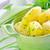 friss · töltött · zöld · paprikák · tál · kész - stock fotó © tycoon