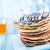 pancakes with banana and chocolate stock photo © tycoon