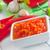 sıcak · sos · kırmızı · biber · domates · maydanoz · üst - stok fotoğraf © tycoon