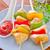 kebab · piros · paradicsom · fehér · főzés · ebéd - stock fotó © tycoon