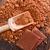 macro · chocolate · doce · pó · fundo · grupo - foto stock © tycoon