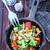 kínai · étel · gomba · tányér · szakács · sárgarépa · étel - stock fotó © tycoon