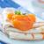 pannenkoeken · honing · ontbijt · voedsel · bosbessen · hout - stockfoto © tycoon