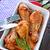 tavuk · kızartma · bacaklar · çanak · tablo · tavuk · grup - stok fotoğraf © tycoon