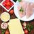 ingredienti · lasagna · tavolo · in · legno · estate · formaggio · pasta - foto d'archivio © tycoon
