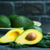 abacate · fresco · tabela · verde · jardim · fundo - foto stock © tycoon