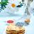 miel · plaque · déjeuner · banane · blanche - photo stock © tycoon